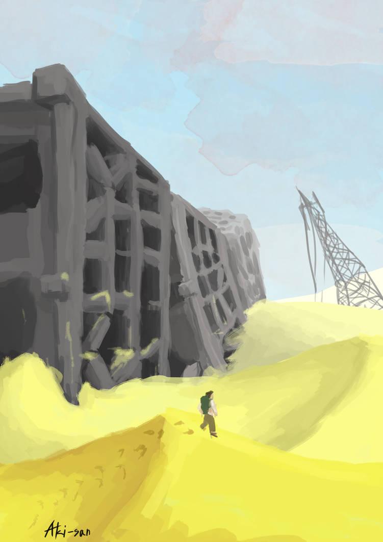 Broken Tower by Aki-san333