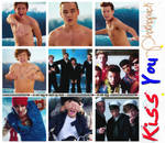 Photopack #2 - Kiss You. by JustFlawless