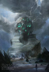 Crystal Skull by chuumink