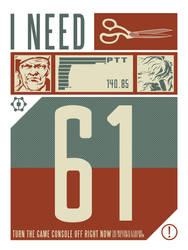 I Need Scissors. 61. by Pinwizkid