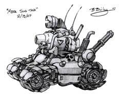 Metal Slug Super Vehicle 001 by Pinwizkid