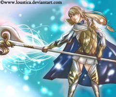 FE: Heroes - Sharena [Speedpaint] by Loustica