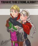 Koopaguradnt and Nina [Commission] by Loustica
