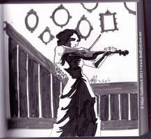 Violinist by RedEyeLoon