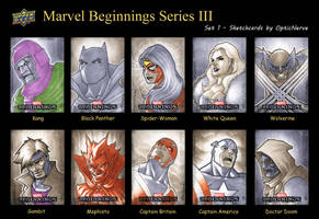 Marvel Beginnings 3 - Set 1 by theopticnerve