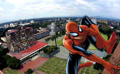Peter In UNAM by Mrbside