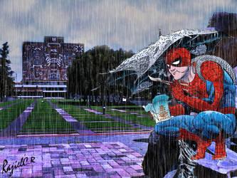 Rainy day, unlucky day by Mrbside