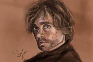 Speedpaint 5 - Tyrion Lannister by sylessae