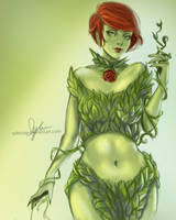 Poison Ivy Fanart by sylessae