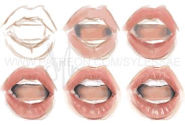 Lip Tutorial (Explanation in description) by sylessae