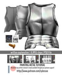 Painting Metal Tutorial .promo by sylessae