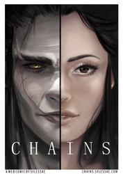 CHAINS Webcomic Cover by sylessae