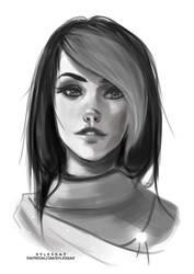 Zorav Sketch [Gift] by sylessae
