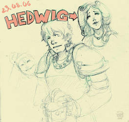 Hedwig and other stuff by seandunkley