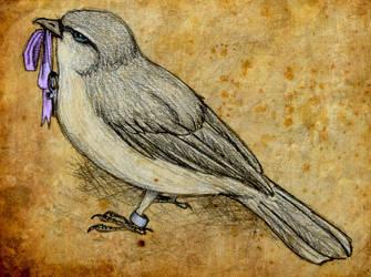 flycatcher by shootin-mockers