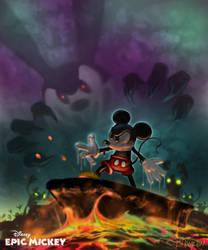Epic Mickey's powers by Hamilton74