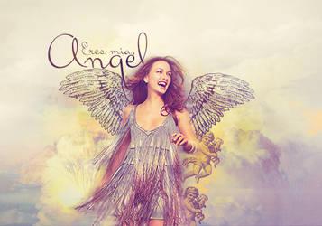 Angel Blend Leighton Meester by carolusabe