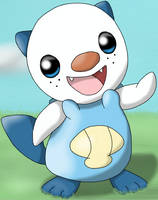 Cute Oshawott is cute by DreamyNormy