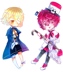Oliver and Fukase - COLLAB by Nitzumi