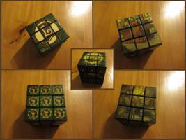 Professor Layton Rubiks cube by BenjaminHunter