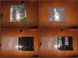 Professor Layton DS Card Case by BenjaminHunter