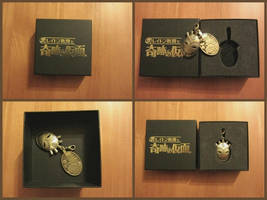 Professor Layton and the Miracle Mask Keychain by BenjaminHunter