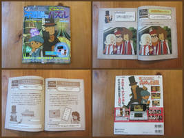 Professor Layton and the Miracle Mask Puzzle Book by BenjaminHunter