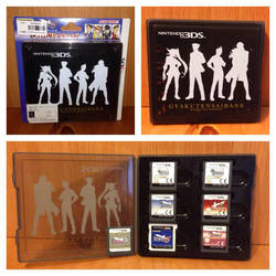 Ace Attorney Dual Destinies 3DS Card Case by BenjaminHunter