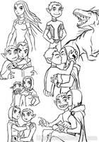 Sketch BBxRae by Drakyx