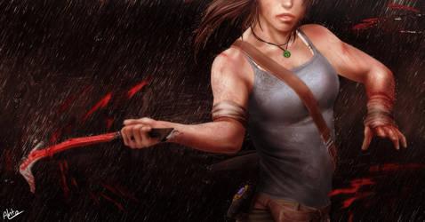 Lara Croft - Tomb Raider by Drakyx