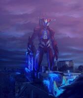 Jaeger - Selknam Warrior by Drakyx
