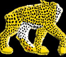 Cheetah Lupus Female by Speedykitten1643