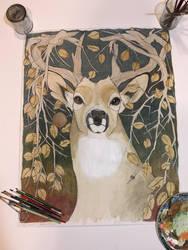 The Autumn Buck by JRayG