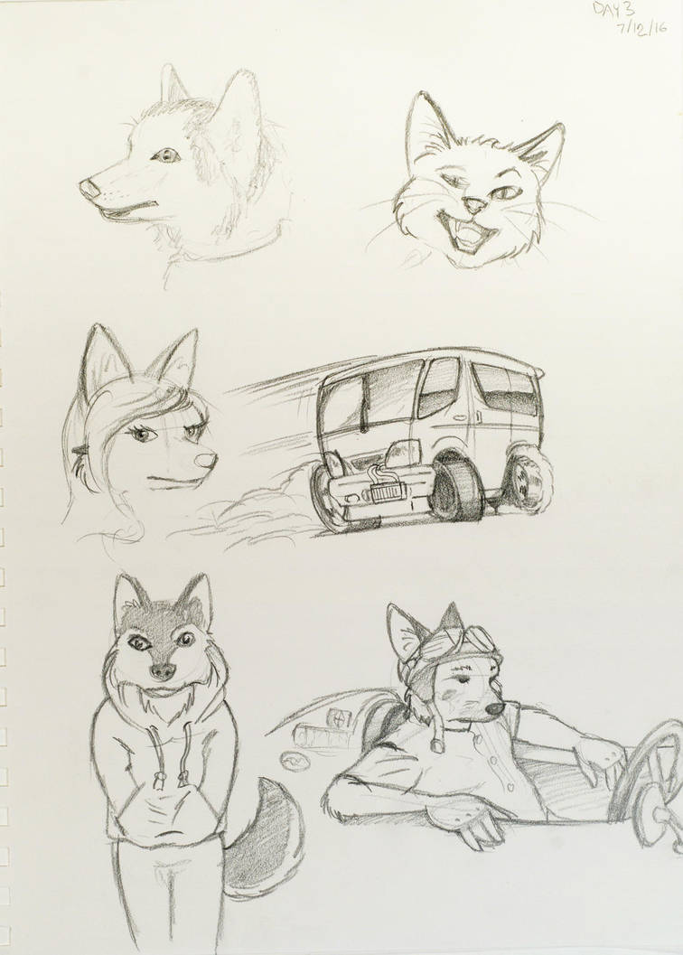 Sketch Day 3 by MarcelloRupelli