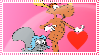 Rocky x Bullwinkle STAMP by MixelFanGirl100