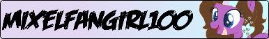 MixelFanGirl100 Fan Button by MixelFanGirl100