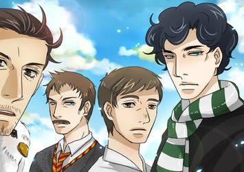 SH in Hogwarts by KD666