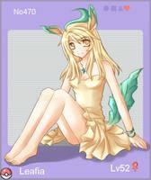 PKMN 470 - Leafia by Ryuna-chan