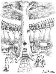 The Tree by Art-Mutt