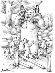 The Bear by Art-Mutt
