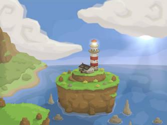 The Lighthouse by Art-Mutt