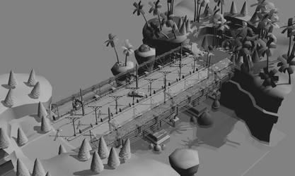 Bridge 3DMax by Art-Mutt