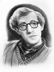 Woody Allen by MOROTEO56