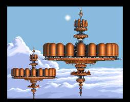 Star Wars - Bespin Tibanna Gas Platforms by sunteam