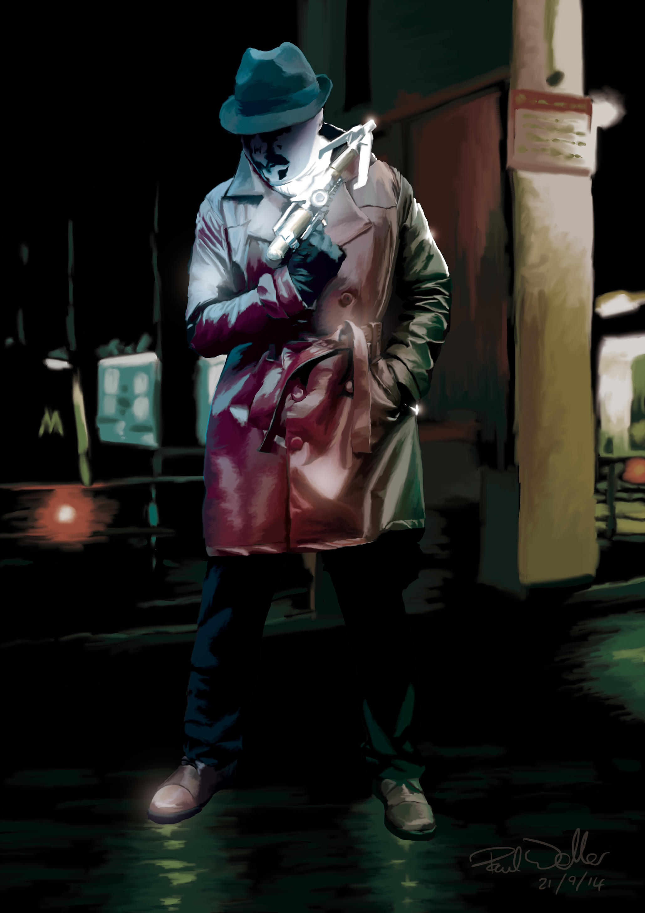Rorschach (Watchmen) by sunteam