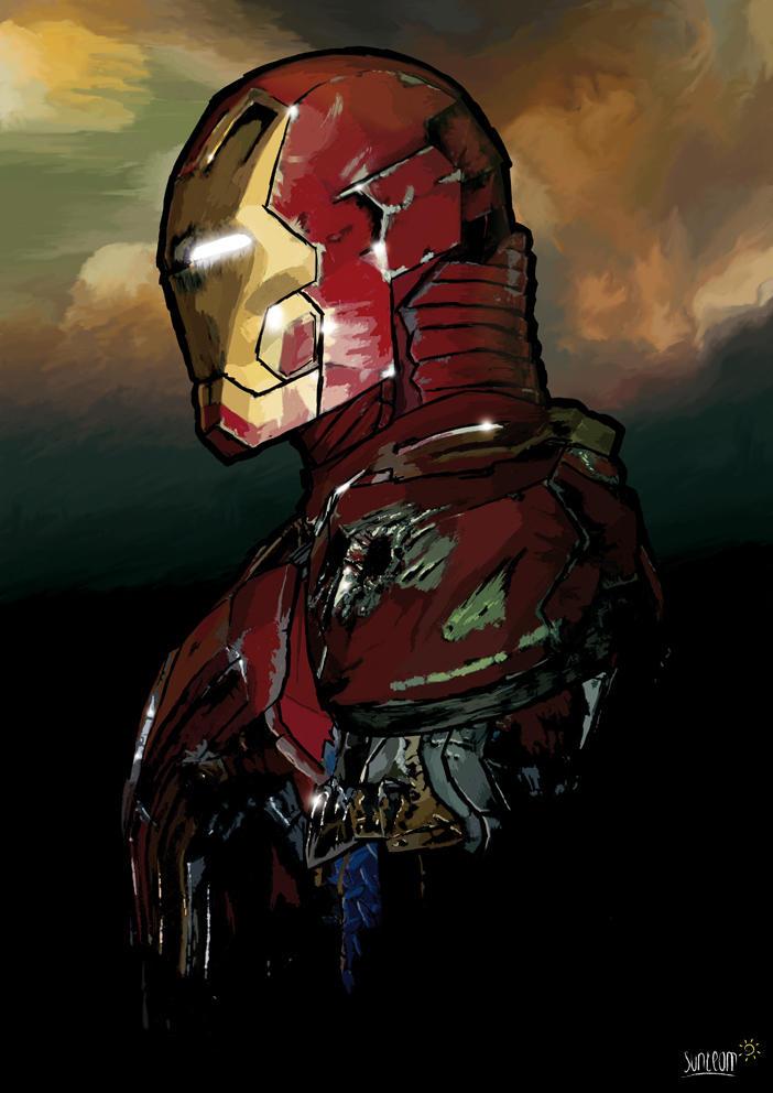 Iron Man by sunteam