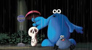 Trap Door Totoro by sunteam