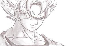 Son Goku - DBZ by Chocogirl3
