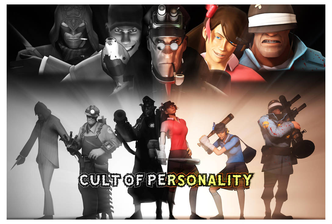 Sfm Tf2 Cult Of Personality Movie Poster By Lonewolfhbs On