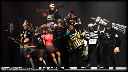 [SFM] Team Fortress 2 - oWn Lineup by LoneWolfHBS